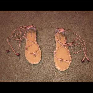 American Eagle sandals (Never worn)
